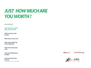 Just How Much Are You Worth?