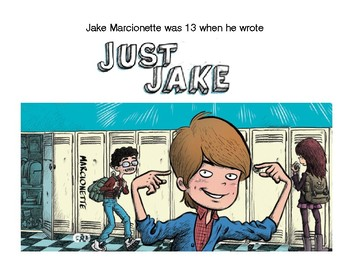 Just Jake Young Writer Author Poster