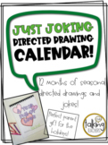 Just Joking! Directed Drawings Calendar (Parent Holiday Gift)
