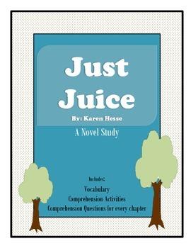 Just Juice Novel Study