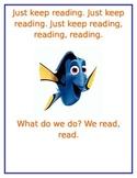 Just Keep Reading- Disney Finding Nemo