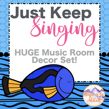 Just Keep Singing!  A HUGE Set of Visual Aides and Classroom Systems