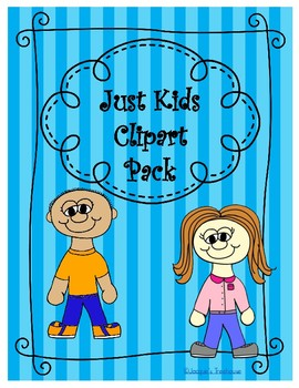 Just Kids Clipart Pack