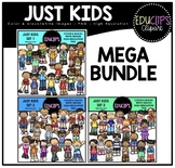 Just Kids Mega Bundle {Educlips Clipart}