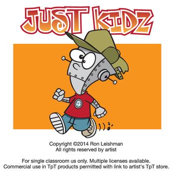 Just Kidz (Kids) Cartoon Clipart