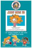 Just Kidz (Kids) Cartoon Clipart Vol. 13 For All Grades