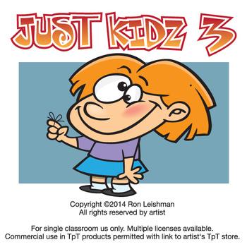 Just Kidz (Kids) Cartoon Clipart Vol. 3