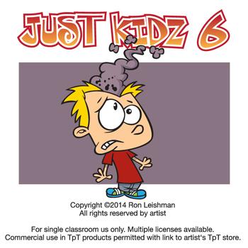 Just Kidz (Kids) Cartoon Clipart Vol. 6