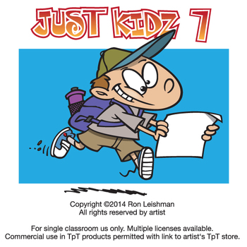 Just Kidz (Kids) Cartoon Clipart Vol. 7