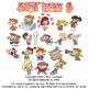 Just Kidz (Kids) Cartoon Clipart Vol. 8