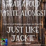 Just Like Jackie Read Aloud Write Along