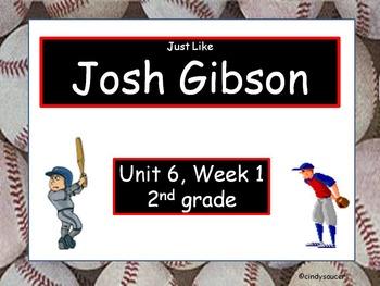 Just Like Josh Gibson, 2nd Grade, Interactive PowerPoint