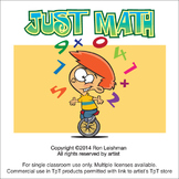Just Math Cartoon Clipart