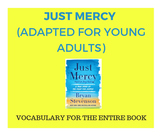 Just Mercy (Adapted for Young Adults)- VOCABULARY LIST FOR