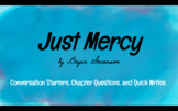 Just Mercy Bell Ringers, Conversation Starters, Chapter Qu
