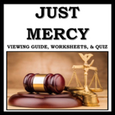 Just Mercy Movie Guide: Includes Viewing Guide, Worksheets