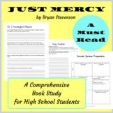 Just Mercy by Bryan Stevenson Book Study