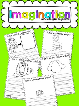 Imagination Can Take You Anywhere {A Creative Journal}