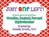Fractions, Decimals, and Percents Game