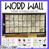 Beginning Sounds Word Wall