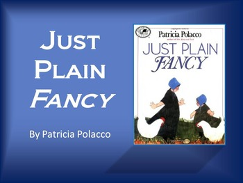 Just Plain Fancy by Polacco, Text Talk, Collaborative Conversations