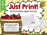 Just Print! Apple Themed ELA Printables