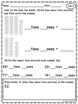 Back to School: Just Print! 2nd Grade Math Printables 2nd Grade Math Common Core