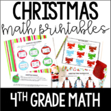 Christmas Math | 4th Grade Christmas Worksheets