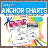 Just Print ELA Anchor Charts GROWING BUNDLE