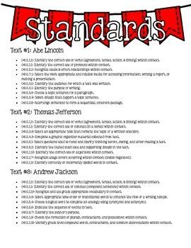 {Just Print & Go!} ELA Test Prep Packet #1