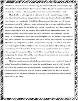 {Just Print & Go!} ELA Test Prep Packet #2