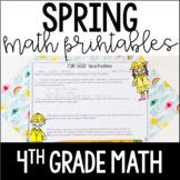 Spring Math {4th Grade Math}