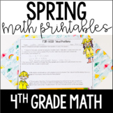 Spring Math Review - 4th Grade Math Practice