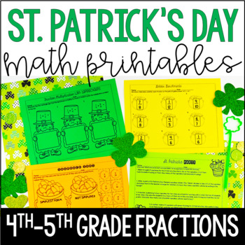 St. Patrick's Day Math {Fractions}