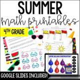 Summer Math {4th Grade Math}