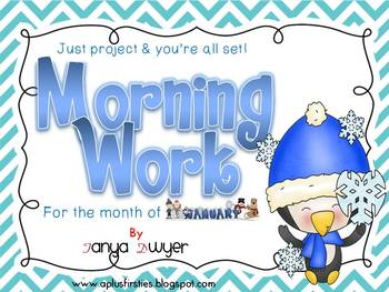 Just Project and You're ALL set! {January Morning Work}