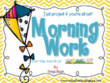 Just Project & you're ALL set! {May Morning Work}