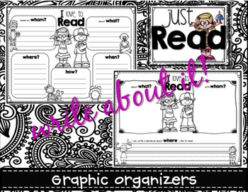 Just READ AMERICA! (Color Your Own Banner) Whole Class Craft