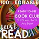 Reading Management System (EDITABLE) + Book Club Guide
