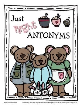 Just Right Antonyms