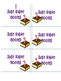Just Right Book Bin/Bag Labels