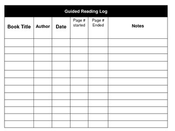 photo about Book Log Printable titled Basically Specifically Ebook Tracker and Log Printable
