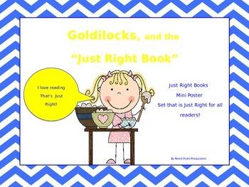 Just Right Books Mini Poster Set