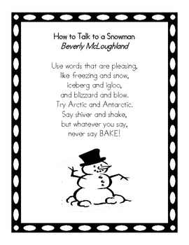 Just Right Poems for Shared Reading
