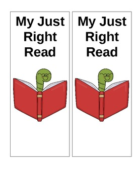 Just Right Read