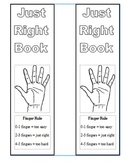 Just-Right Reading Bookmarks