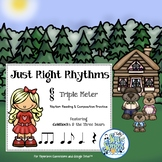 Just Right Rhythms-Read and Write 6/8 Triple Meter for Paperless Classrooms