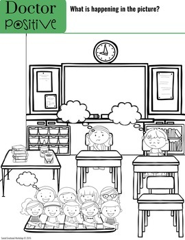 Just Right Thinking Workbook to Challenge Negative Thoughts