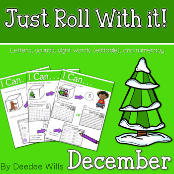 Just Roll With It: December-editable