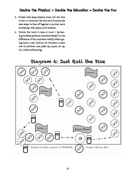 Just Roll the Dice PE Game to reinforce Math Concepts